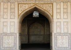 Indiańscy cudowni przykłady architektura - Czerwony fort w Agra Zdjęcia Royalty Free