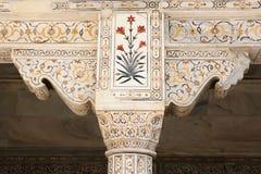 Indiańscy cudowni przykłady architektura - Czerwony fort w Agra Obrazy Royalty Free