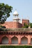 Indiańscy cudowni przykłady architektura - Czerwony fort w Agra Fotografia Royalty Free