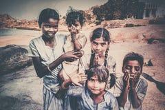 Indiańscy dzieci zdjęcie royalty free