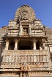 Indiańska świątynia w Chittorgarh - India zdjęcia royalty free