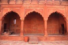 Indiańska architektura Wysklepia blisko Taj Mahal, Agra, India zdjęcia royalty free