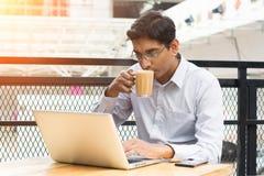 Indiańska biznesowa samiec zdjęcie stock