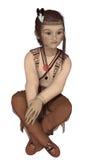 Indiańska chłopiec Zdjęcie Royalty Free