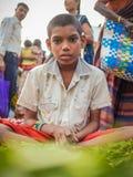 Indiańska chłopiec Obrazy Royalty Free