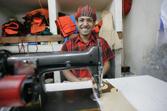 Indiańska fabryka zdjęcia stock