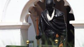 Indiańska kulturalna statua widzieć przed archway zbiory