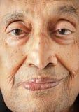 Indiańska mężczyzna twarz Fotografia Royalty Free