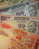 Indiańska waluta Obraz Stock