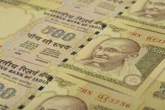 Indiańska Waluta Fotografia Royalty Free