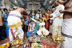Indiański ślub Zdjęcie Royalty Free