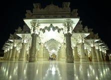 Indiański świątynny Jain gujrat bhuj Zdjęcia Royalty Free
