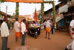 Indiański świętowanie nowy rok. Zdjęcia Royalty Free