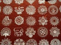 Indiański amulet od złych duchów ilustracja wektor