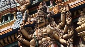 Indiański bóg przedstawiający w statui zdjęcie wideo
