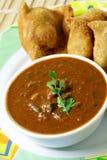 Indiański bobowy curry fotografia stock