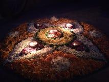 Indiański festiwal Diwali festiwal światło obraz royalty free