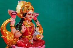 Indiański festiwal Diwali, Laxmi Pooja zdjęcie stock