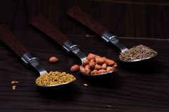 Indiański jedzenie proszek zdjęcia royalty free