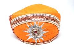 Indiański kłobuk lub turban Fotografia Stock