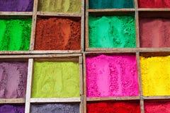 Indiański koloru proszek zdjęcie royalty free