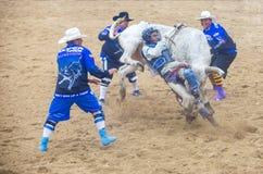 Indiański krajowy finału rodeo Zdjęcia Stock