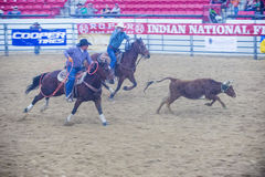 Indiański krajowy finału rodeo Zdjęcia Royalty Free