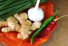 Indiański kulinarny składnik obrazy stock