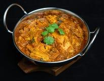 Indiański Kurczaka Rangoon Curry'ego Jedzenie Zdjęcia Stock
