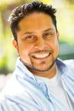 Indiański mężczyzna zakończenie up zdjęcie royalty free