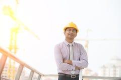 Indiański męski architekt Obrazy Stock