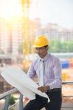 Indiański męski architekt Fotografia Royalty Free