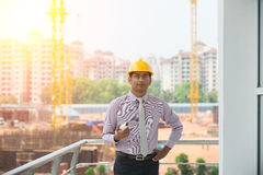 Indiański męski architekt Obraz Royalty Free