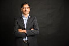 Indiański męski biznesmen Obraz Stock