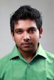 Indiański męski portret Zdjęcie Stock