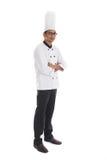 Indiański męski szef kuchni Zdjęcia Stock