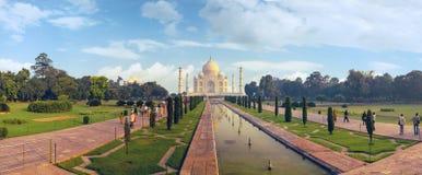 Indiański pałac Tajmahal światu punkt zwrotny Zdjęcie Royalty Free