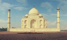 Indiański pałac Tajmahal światu punkt zwrotny Zdjęcia Stock