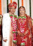 Indiański Państwo Młodzi Zdjęcie Royalty Free