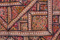 Indiański patchworku dywan zdjęcia stock