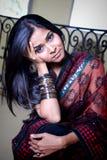 Indiański piękno Zdjęcia Royalty Free