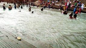 Indiański Religijny Rzeczny Ganga fotografia royalty free
