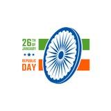 Indiański republika dzień royalty ilustracja