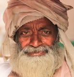 Indiański riksza właściciel Obraz Royalty Free