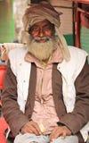 Indiański riksza właściciel Zdjęcie Stock