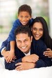 Indiański rodzinny ostrosłup Zdjęcia Royalty Free