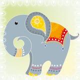 Indiański słoń Fotografia Stock
