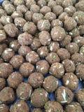 Indiański Słodki Laddu Fotografia Stock