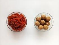Indiański Słodki naczynie Specjalny Okazyjny produkt spożywczy fotografia stock