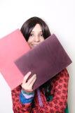 Indiański student collegu dostaje przygotowywający studiować Obraz Royalty Free